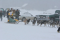 Jr. Iditarod Willow Lake  start / finish  Ellen King
