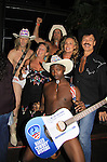 Naked Cowboys with Randy Jones (Village People) celebrates his marriage (this morning September 13, 2013) with a celebration at the 13th Annual Kings & Cowboys at DL in New York City, New York. Randy is also celebrating his birthday. Also there were Randy's mom Elaine and Will's mom Marge. Actor Keith Collins was there. (Photo by Sue Coflin/Max Photos)
