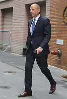 NEW YORK, NY - SEPTEMBER 12: Michael Avenatti personal attorney for Stormy Daniels at The View to talk about her new book Full Disclosure and Donald Trump at the in New York September 12, 2018 <br /> CAP/MPI/RW<br /> &copy;RW/MPI/Capital Pictures