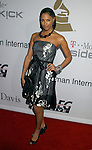 BEVERLY HILLS, CA. - February 07: K. D. Aubert arrives at the 2009 GRAMMY Salute To Industry Icons honoring Clive Davis at the Beverly Hilton Hotel on February 7, 2009 in Beverly Hills, California.