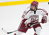 Jake Horton (Harvard - 91) - The Harvard University Crimson defeated the visiting Rensselaer Polytechnic Institute Engineers 5-2 in game 1 of their ECAC quarterfinal series on Friday, March 11, 2016, at Bright-Landry Hockey Center in Boston, Massachusetts.
