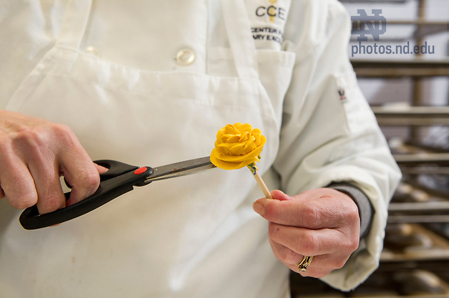 Feb. 2, 2015; Center for Culinary Excellence - Website. (Photo by Barbara Johnston/University of Notre Dame)