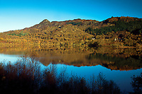 Loch Achray and Ben A'an, Loch Lomond and The Trossachs National Park