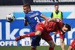 20.06.2020, xmeix, 1.Fussball Bundesliga, TSG 1899 Hoffenheim - 1.FC UNion Berlin, empor. v.l.n.r, <br /> Pavel Kaderabek (TSG 1899 Hoffenheim) gegen Neven Subotić (1.FC Union Berlin)<br /> <br /> <br /> <br /> Foto: Sascha Meiser/APF/Pool/PIX-Sportfotos<br /> <br /> Nur für journalistische Zwecke!<br /> Only for editorial use!<br /> Nutzungsbedingungen: http://poolbilder.de/nutzungsvereinbarung.pdf