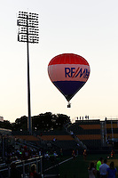 Rochester, NY - Friday June 24, 2016: Re/Max Sponsor during a regular season National Women's Soccer League (NWSL) match between the Western New York Flash and the Boston Breakers at Rochester Rhinos Stadium.