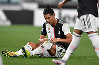 Cristiano Ronaldo of Juventus during the Serie A football match between Juventus FC and US Lecce at Juventus stadium in Turin  ( Italy ), June 26th, 2020. Play resumes behind closed doors following the outbreak of the coronavirus disease. Photo Andrea Staccioli / Insidefoto