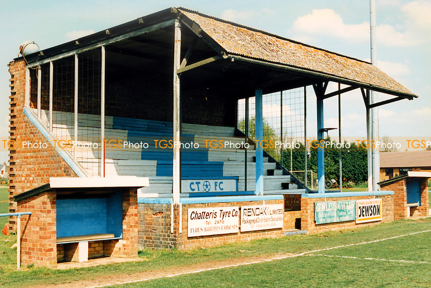 West Street, home of Chatteris Town Football Club (Cambridgeshire), pictured circa 1994 - Gavin Ellis/TGSPHOTO - Self billing applies where appropriate - 0845 094 6026 - contact@tgsphoto.co.uk - NO UNPAID USE..
