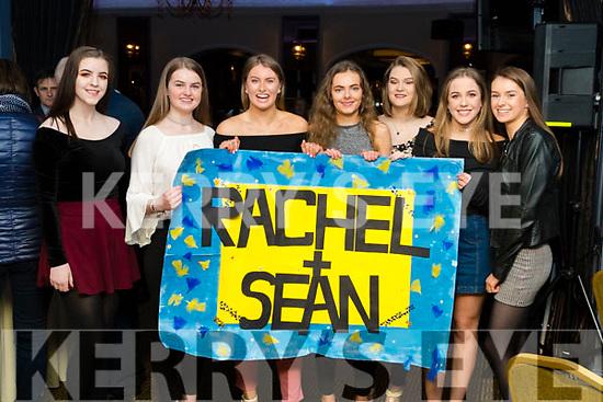 Tara Lynch, Amy O'Mahony, Katie Nagle, Éidín Dowling, Shauna Flynn, Maria Dwyer and Jenny Fox, enjoying Ballymac Strictly Come Dancing, at Ballygarry House Hotel & Spa, Tralee, on Saturday night last.