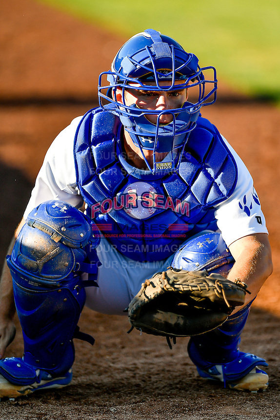 Will Smith (21) of the Ogden Raptors before the game against the Orem Owlz in Pioneer League action at Lindquist Field on June 27, 2016 in Ogden, Utah. Orem defeated Ogden 4-3.  (Stephen Smith/Four Seam Images)