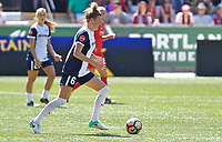Portland, OR - Saturday September 02, 2017: Kassey Kallman during a regular season National Women's Soccer League (NWSL) match between the Portland Thorns FC and the Washington Spirit at Providence Park.