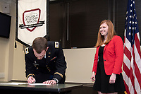 Katie Zornow Commissioning Ceremony