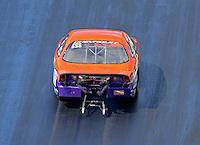 Jun 17, 2016; Bristol, TN, USA; NHRA pro stock driver Dave River during qualifying for the Thunder Valley Nationals at Bristol Dragway. Mandatory Credit: Mark J. Rebilas-USA TODAY Sports
