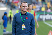 9th November 2019; Bankwest Stadium, Parramatta, New South Wales, Australia; International Womens Friendly Football, Australia versus Chile; Australian coach Ante Milicic before kick off - Editorial Use
