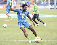Seattle, Washington - Saturday, May 17, 2014: The Seattle Sounders FC defeated the San Jose Earthquakes 1-0 to remain undefeated at home at CenturyLink Field.
