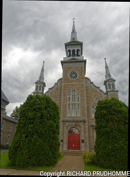 Saint-Edouard Church in Gentilly , Quebec