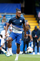 Michy Batshuayi of Chelsea during the Premier League match between Chelsea and Sheff United at Stamford Bridge, London, England on 31 August 2019. Photo by Carlton Myrie / PRiME Media Images.