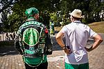 Werder Fans / Empfang Mannschaftsbus, <br /> <br /> Sport: nphgm001: Fussball: 1. Bundesliga: Saison 19/20: 34. Spieltag: SV Werder Bremen vs 1.FC Koeln 27.06.2020 <br /> <br /> Foto: Rauch/gumzmedia/nordphoto<br /> <br /> EDITORIAL USE ONLY