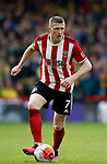 John Lundstram of Sheffield Utd during the Premier League match at Bramall Lane, Sheffield. Picture date: 7th March 2020. Picture credit should read: Simon Bellis/Sportimage