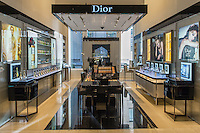 The Christian Dior shop at Saks Fifth Avenue on Michigan Avenue in downtown Chicago, IL.