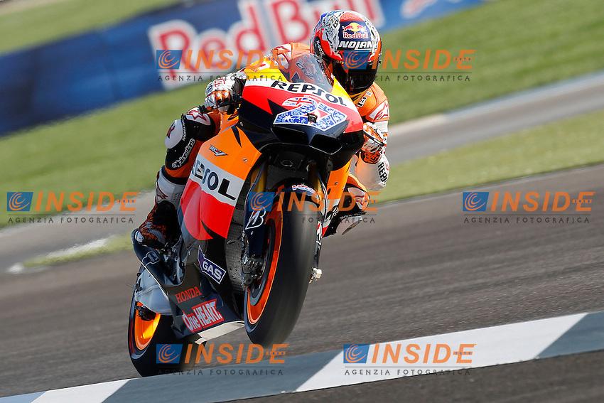 .27-08-2011 Indianapolis (USA).Motogp - Motogp.in the picture: Casey Stoner - Repsol Honda team