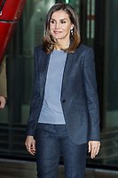 MADRID, SPAIN-February 05: Queen Letizia of Spain attends the International Day of Secure Internet at National Museum Reina Sof&iacute;a Art Center on February 5, 2019 in Madrid, Spain.  ***NO SPAIN***<br /> CAP/MPI/RJO<br /> &copy;RJO/MPI/Capital Pictures