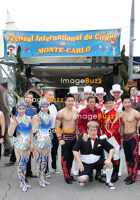 PRINCESS STEPHANIE OF MONACO - January 15, 2013-Monaco (MCO)-H. S. H. Princess Stephanie of Monaco presents the 37th Monte-Carlo Circus Festival. The Festival takes place in the Principality from January 17th to February 3rd with the best artists of the world......