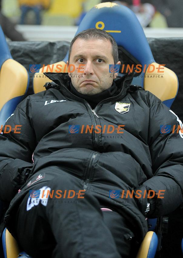 "Devis MANGIA  (Palermo).Parma 4/12/2011 Stadio ""Ennio Tardini"".Serie A 2011/2012.Football Calcio Parma Vs Palermo.Foto Insidefoto Alessandro Sabattini."