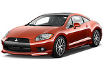 Front three quarter view of a 2012 Mitsubishi Eclipse GT Coupe .