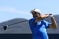 Darren Fichardt (RSA) on the 11th tee during the Preview of the Irish Open at Ballyliffin Golf Club, Donegal on Tuesday 3rd July 2018.<br /> Picture:  Thos Caffrey / Golffile