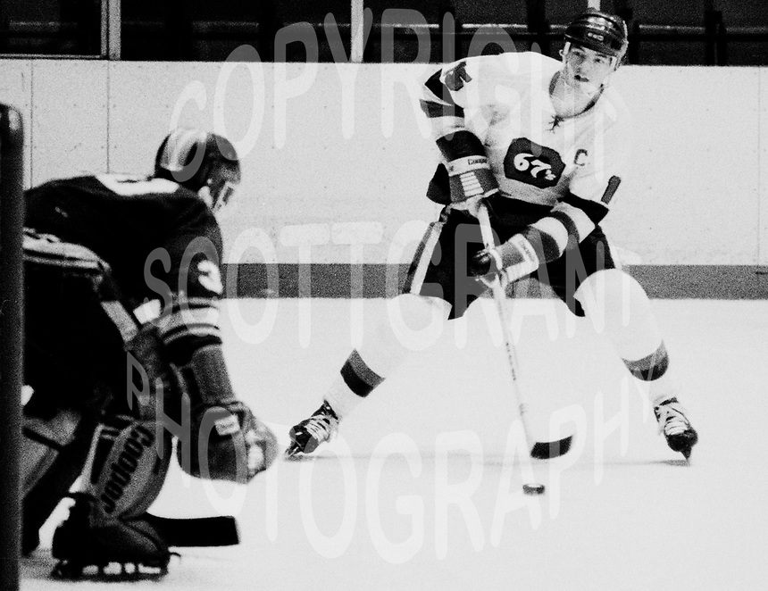 Bobby Smith Ottawa 67's 1980. Photo Scott Grant