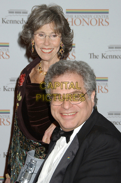 ITZHAK PEARLMAN & WIFE.Kennedy Center Honors 2006 State Department Dinner,  held at the State Department, Washington, D.C. USA,.02 December 2006..portrait headshot.CAP/ADM/LF.©Laura Farr/AdMedia/Capital Pictures.