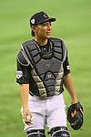 Motohiro Shima (JPN), <br /> NOVEMBER 14, 2014 - Baseball : <br /> 2014 All Star Series Game 2 <br /> between Japan and MLB All Stars <br /> at Tokyo Dome in Tokyo, Japan. <br /> (Photo by YUTAKA/AFLO SPORT)[1040]