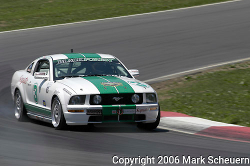 The Blackforest Motorsports Mustang GT driven by Jason Workman and Fernando Scattolin at the Emco Gears Classic at Mid-Ohio, 2006<br /> <br /> Please contact me for the full-size image<br /> <br /> For non-editorial usage, releases are the responsibility of the licensee.