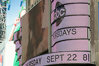 ABC advertisement is seen in Times Square, New York, NY, Tuesday August 2, 2011.