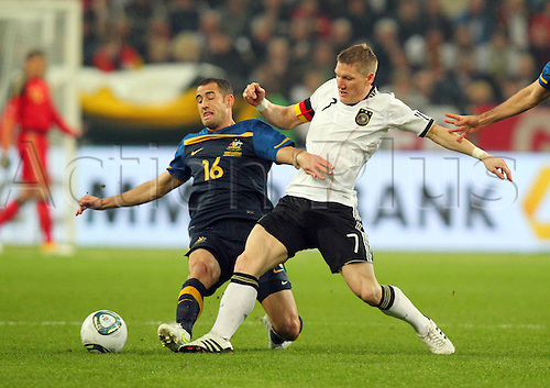 29 03 2011  Germany v Australia Friendly. international match friendly   national team DFB Aix wins the ball