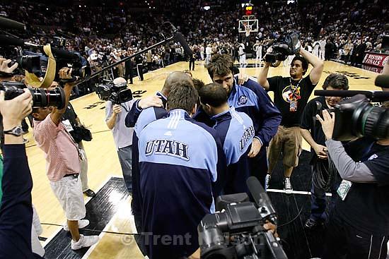 San Antonio - Utah Jazz vs. San Antonio Spurs, Western Conference Finals game five at the AT&T Center..5.30.2007