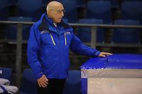 SCHAATSEN: HEERENVEEN: IJsstadion Thialf, 05-02-15, Training World Cup, Floor van Leeuwen (assistent coach Team Continu), ©foto Martin de Jong