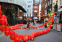 JAN 23 London prepares for Chinese New Year