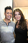 Felix Mercado & Lisa Vanderpump backstage - Celebrity Fashion Stylist Felix Mercado's Fashion Nght Out Runway Show and After Party was held on September 6, 2012 at Loehmann's, New York City, New York  Lisa Vanderpump (The Real Housewives of Beverly Hills) (Photo by Sue Coflin/Max Photos)