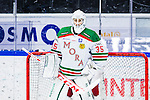S&ouml;dert&auml;lje 2013-12-12 Ishockey Hockeyallsvenskan S&ouml;dert&auml;lje SK - Mora IK :  <br /> Mora m&aring;lvakt 35 Mantas Armalis <br /> (Foto: Kenta J&ouml;nsson) Nyckelord:  portr&auml;tt portrait