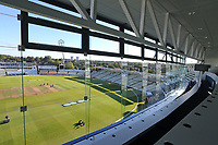 General view from the media centre during Warwickshire CCC vs Essex CCC, Specsavers County Championship Division 1 Cricket at Edgbaston Stadium on 13th September 2017