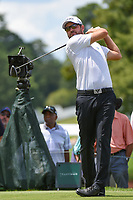 Corey Conners (CAN) watches his tee shot on 4 during round 2 of the 2019 Tour Championship, East Lake Golf Course, Atlanta, Georgia, USA. 8/23/2019.<br /> Picture Ken Murray / Golffile.ie<br /> <br /> All photo usage must carry mandatory copyright credit (© Golffile | Ken Murray)