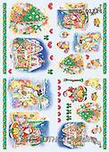 Alfredo, CHRISTMAS SANTA, SNOWMAN, decoupage, paintings(BRTOD1124,#X#,#DP#) Weihnachten, Navidad, illustrations, pinturas