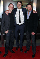 "HOLLYWOOD, LOS ANGELES, CA, USA - APRIL 03: Mike Flanagan, James Lafferty, Rory Cochrane at the Los Angeles Screening Of Relativity Media's ""Oculus"" held at TCL Chinese 6 Theatre on April 3, 2014 in Hollywood, Los Angeles, California, United States. (Photo by Xavier Collin/Celebrity Monitor)"