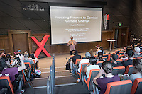 "Kumi Naidoo, a South African human rights activist and previously the International Executive Director of international environmentalist group Greenpeace, talks about ""Freezing Finance to Combat Climate Change.""<br />