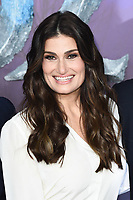 "LONDON, UK. November 17, 2019: Idina Menzel arriving for the ""Frozen 2"" European premiere at the BFI South Bank, London.<br /> Picture: Steve Vas/Featureflash"