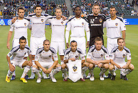 LA Galaxy starting eleven. The LA Galaxy and Toronto FC played to a 0-0 draw at Home Depot Center stadium in Carson, California on Saturday May 15, 2010.  .
