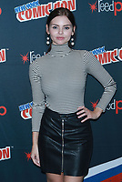 NEW YORK, NY - OCTOBER 7: Eline Powell at Freeform's Siren at New York Comic Con on October 7, 2017 in New York City.   <br /> CAP/MPI/DC<br /> &copy;DC/MPI/Capital Pictures