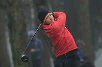 David Li (Germany) during the final round of the Peter McEvoy Trophy played at Copt Heath Golf Club, Solihull, England. 12/04/2018.<br /> Picture: Golffile | Phil Inglis<br /> <br /> <br /> All photo usage must carry mandatory copyright credit (&copy; Golffile | Phil Inglis)