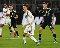 Luca Waldschmidt (Deutschland Germany) - 09.10.2019: Deutschland vs. Argentinien, Signal Iduna Park, Freunschaftsspiel<br /> DISCLAIMER: DFB regulations prohibit any use of photographs as image sequences and/or quasi-video.
